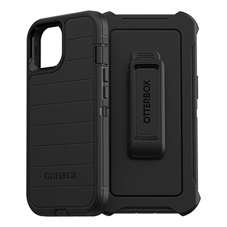 Otterbox Defender Pro Series Case for Apple iPhone 13 - Black