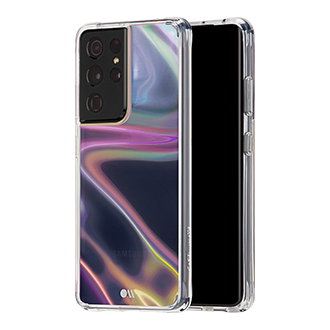Case-Mate Soap Bubble Case for Samsung Galaxy S21 Ultra 5G - Iridescent