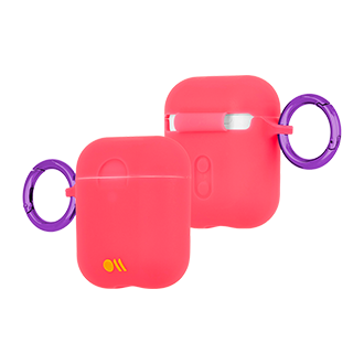 Case-Mate AirPods Hook Ups Case - Living Coral
