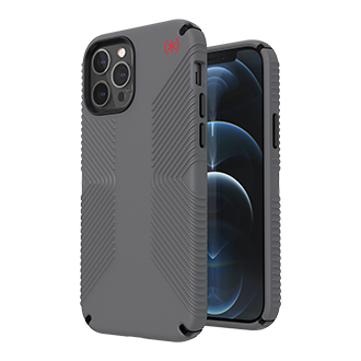 Speck Presidio Pro2 Grip Case for Apple iPhone 12/12 Pro - Grey/Grey