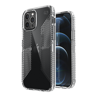 Speck Presidio Pro2 Grip Case for Apple iPhone 12/12 Pro - Clear