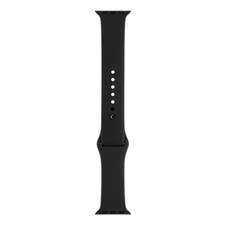 Apple Watch 38mm Sport Band with Space Black Pin - Black