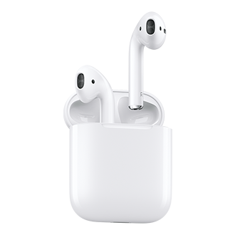 Apple Airpods Wireless. Effortless. Magical. Airpods Will Forever Change The Way You Use Headphones. Whenever You Pull Your Airpods Out Of The Charging Case, They Instantly Turn On And Connect To Your iPhone, Apple Watch, iPad, Or Mac.(1) Audio Automatically Plays As Soon As You Put Them In Your Ears And Pauses When You Take Them Out. To Adjust The Volume, Change The Song, Make A Call, Or Even Get Directions, Just Double-Tap To Activate Siri. Driven By The Custom Apple W1 Chip, Airpods Use Optical Sensors And A Motion Accelerometer To Detect When They're In Your Ears. Whether You're Using Both Airpods Or Just One, The W1 Chip Automatically Routes The Audio And Engages The Microphone. And When You're On A Call Or Talking To Siri, An Additional Accelerometer Works With Beamforming Microphones To Filter Out Background Noise And Focus On The Sound Of Your Voice. Because The Ultralow-Power W1 Chip Manages Battery Life So Well, Airpods Deliver An Industry-Leading 5 Hours Of Listening Time On One Charge.