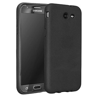 Samsung Galaxy J3 Prime T-Mobile Flex Protective Cover - Black Smooth, Flexible Protection For Your Phone. Case Reduces The Impact Of Drops And Bumps. Rubberized Finish Provides A Sure Grip And Helps Protect Against Dirt And Scratches. Buttons And Ports Remain Easy To Reach.