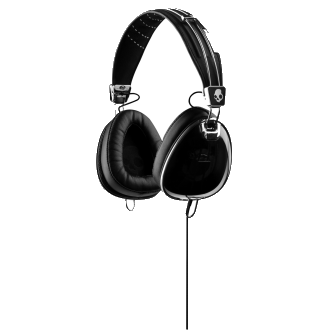 Skull Candy Skullcandy Aviator Headphones - Black