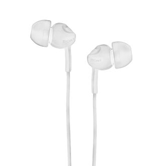 SONY MDR-X110 Wired Earbud - White