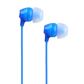 SONY MDR-X15 Wired Earbud - Blue
