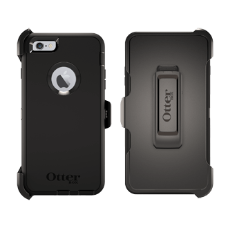iPhone 6 Plus OtterBox Defender Case - Black