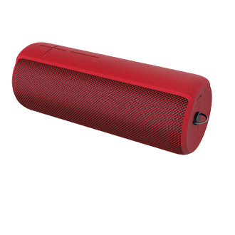 Ue Megaboom Wireless Bluetooth Speaker - Lava Red Experience Amazing 360-Degree Sound And Deep Bass With This Wireless Speaker. Take This Unbelievably Light Waterproof (ipx7) Speaker To The Beach, Camping, Or Your Backyard. Wirelessly Connect A Second Ue Megaboom Or Ue Boom Portable Wireless Speaker To Extend Your Party. Download The Ue Megaboom App So You Can Control Your Speaker From Afar.