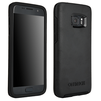 Samsung Galaxy S7 Otterbox Symmetry Series Case - Black Stylish, Durable Protection That Slides Easily In Your Pocket But Won't Slip Out Of Your Hand. Wraparound Colors And Graphics Add Fun And Flair. Two Nonslip, Lightweight Layers Help Absorb The Impact Of Drops, Bumps, And Other Shock.