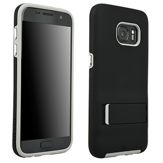 Samsung Galaxy S7 Case-Mate Tough Stand - Black & Grey