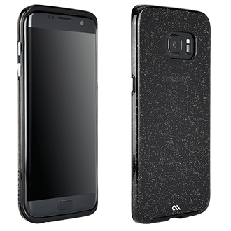 Samsung Galaxy S7 Edge Case-Mate Naked Tough Case - Glam Noir Ultra-Slim Design Features A Smooth, Clear Finish That Resists Scratches And Feels Good In Your Hand. Two Lightweight Layers And A Protective Bumper Reduce Impact And Shock.