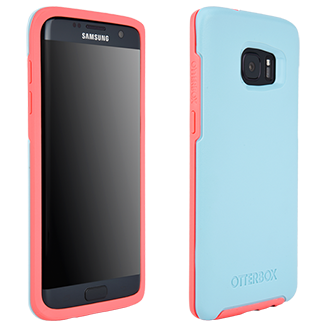 Samsung Galaxy S7 Edge Otterbox Symmetry Series Case - Boardwalk Stylish, Durable Protection That Slides Easily In Your Pocket But Won't Slip Out Of Your Hand. Wraparound Colors And Graphics Add Fun And Flair. Two Nonslip, Lightweight Layers Help Absorb The Impact Of Drops, Bumps, And Other Shock.