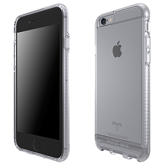 iPhone 6s Plus Tech21 Impact Clear Case - Clear Impact Clear Uses Bulletshield, A Totally Transparent, Ultra Efficient Impact Absorbing Material That's Actually Used In Bullet Proof Glass. It's Impact Absorbing Properties Allowed Us To Reduce The Amount Of Material Used, Slimming Impact Clear Down To Merely 2mm On The Sides, And 1.5mm On The Back.
