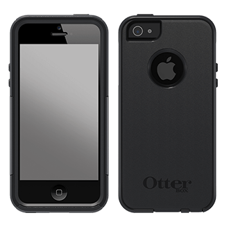 iPhone Se Otterbox Commuter Series Case - Black Unbeatable Protection In A Slim Case That Slides Easily In Your Pocket For Life On The Go. Two Lightweight Layers (a Synthetic Rubber Slipcover With A Polycarbonate Shell) Help Absorb Impact, Protecting Your Phone From Drops, Bumps, And Other Shock. Self-Sticking Screen Protector Prevents Scratches And Scrapes While Leaving Your Touchscreen Just As Easy To Use. Tight-Fitting Cover Helps Keep Dust And Dirt From Getting Inside Your Phone. A Great Case To Keep Your Phone Looking Like New.