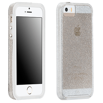 iPhone Se Case-Mate Sheer Glam Case - Champagne The Glam Collection Is Inspired By Dazzling Fine Jewelry That Shimmers. The Intense Sparkle Is Captured Within A Glossy, Smooth Surface, Ensuring Durability And A Stunning Depth Of Color.