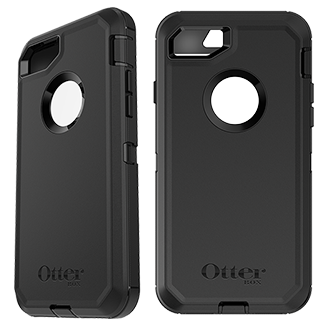 Apple iPhone 7/8 Otterbox Defender Series Case - Black Rugged, Unbeatable Protection On The Job Or On The Go, The Otterbox Defender Is Engineered To Provide Quad-Layer Defense. Each Layer Works Together To Provide The Ultimate Drop, Scratch And Dirt Protection.
