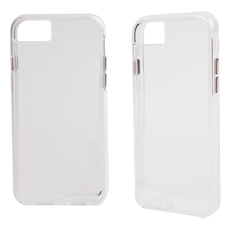 Apple iPhone 7 Case-Mate Naked Tough Case - Clear Stylish Protection That Slides Easily In Your Pocket. Ultra-Slim Design Features A Smooth, Clear Finish That Resists Scratches. Two Lightweight Layers And A Protective Bumper Reduce Impact And Shock. Metal Button Accents Add To The Polished Look.