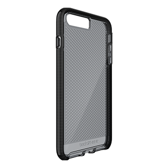 Apple iPhone 7/8 Plus Tech21 Evo Check Case - Smoke & Black Ultra-Thin, Super-Lightweight Protection For Your Phone. Flexshock Material Offers Superior Protection Against Impact And Helps Prevent Scratches. Corners Are Encased For A Secure Fit. Inside Check Pattern Adds A Touch Of Style.