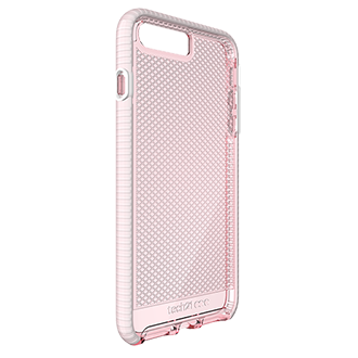 Apple iPhone 7/8 Plus Tech21 Evo Check Case - Light Rose & White Ultra-Thin, Super-Lightweight Protection For Your Phone. Flexshock Material Offers Superior Protection Against Impact And Helps Prevent Scratches. Corners Are Encased For A Secure Fit. Inside Check Pattern Adds A Touch Of Style.