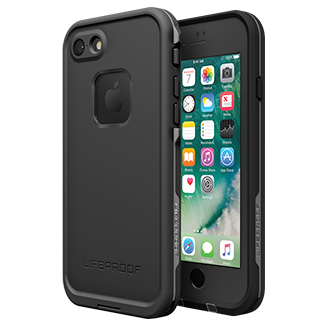 Apple iPhone 7 Lifeproof Fre Case - Black Surfing Off Malibu, Hiking Through The Ozarks, Kayaking Down The Colorado — Adventure Is Out There. And When You're Exploring With Lifeproof Fre, You Never Have To Leave Your Phone Back At Home.