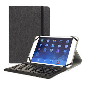 """M-Edge Folio Plus Pro For 7-8"""" Tablets An Ultra-Slim Case With A Landscape Stand Position And Removable Bluetooth Keyboard."""