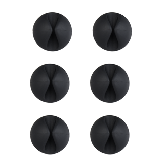 Bluelounge Cabledrop - Black Cabledrops Are Little Drops That Grasp Peripheral Cables To Keep Them In Place, Routed And Within Reach Wherever You May Need Them. Affix To Desks, Walls And Nightstands To Keep Your Cables In Place So They're There When You Need Them.