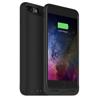 Apple iPhone 7 Plus Mophie Juice Pack Air - Black Lightweight Protection That Doubles Your Battery Power. Flip A Switch For A Quick Charge That Provides More Than 100 Percent Extra Talk Time, Internet Use, Or Video Playback. Durable Outer Band And Rubberized Pads Reduce Impact, Adding To Case's Full Coverage. When Connected To A Computer, Case Lets Phone Charge And Sync First Before Recharging Itself. Switch Lets You Choose When To Charge Or Save Power For Later. Comes In A Variety Of Colors.