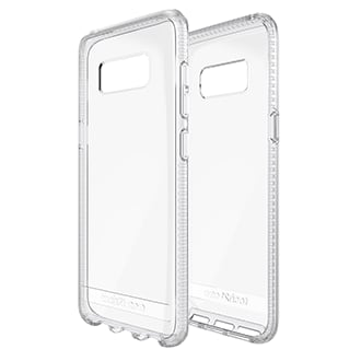 Samsung Galaxy S8 Tech21 Pure Clear Case Offering Advanced Protection From Day-To-Day Drops And Scuffs, You Can Trust The Tech 21 Impact Clear To Keep Your Phone As Beautiful As The Day You Took It Out Of The Box. Impact Clear Offers 1.5m/5ft Drop Protection Thanks To Bulletshield, Used In Bulletproof Glass, Turning Your Fear Of Breaking Your Phone Into A Carefree Attitude That Makes Life That Much More Fun. Enhanced Uv Yellowing Resistance And A Durable, Scratch Resistant Coating Keeps Your Phone, And Your Case, Looking Great For Longer Than Ever. Impact Clear Sits Securely In Your Hand And Gives You Comfortable And Precise Access To All Your Ports And Function Buttons.
