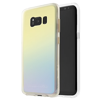 Samsung Galaxy S8 Plus Case-Mate Naked Tough Case - Iridescent Stylish Protection That Slides Easily In Your Pocket. Ultra-Slim Design Features A Smooth, Clear Finish That Resists Scratches. Two Lightweight Layers And A Protective Bumper Reduce Impact And Shock. Metal Button Accents Add To The Polished Look.