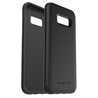 Samsung Galaxy S8 Plus Otterbox Symmetry Series Case - Black With Otterbox Symmetry Series, Thin Equals Tough. Featuring An Ultra-Slim Profile And Otter Box Certified Drop Plus Protection, Symmetry Series Stays True To Your Phone's Sleek Design — And We Stay True To Our Promise Of Protection. Its Sleek Profile Follows Your Phone's Precision Lines And Slips Easily In And Out Of Pockets And Purses While Its Raised, Beveled Edge Helps Protect The Touchscreen. The Hard Polycarbonate Exterior Helps Keep Your Phone Safe From Scratches.