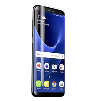 Samsung Galaxy S8 Zagg Invisibleshield Glass Curve Made From High-Definition Curved Glass, Glass Curve Is Made To Protect Your Phone's Screen From Scratches And Other External Damages. The Smooth, Scratch Resistant Tempered Glass Is 9h Hardness And Is Precision Engineered For Touch And Swiping. Installation Is Simple And Easy With The Included Alignment Tray.
