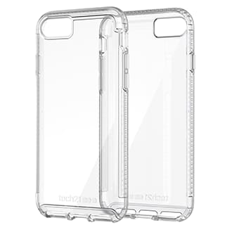 Apple iPhone 7/8 Plus Tech21 Pure Clear Case - Clear Offering Advanced Protection From Day-To-Day Drops And Scuffs, You Can Trust The Tech 21 Pure Clear To Keep Your Phone As Beautiful As The Day You Took It Out Of The Box. Pure Clear Offers 2m/6.6ft Drop Protection Thanks To Bulletshield, Used In Bulletproof Glass, Turning Your Fear Of Breaking Your Phone Into A Carefree Attitude That Makes Life That Much More Fun. Enhanced Uv Yellowing Resistance And A Durable, Scratch Resistant Coating Keeps Your Phone, And Your Case, Looking Great For Longer Than Ever. Pure Clear Sits Securely In Your Hand And Gives You Comfortable And Precise Access To All Your Ports And Function Buttons.