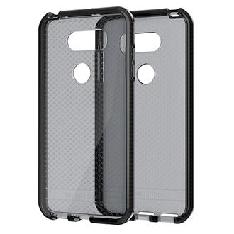 Lg V30 Tech21 Evo Check Case - Smoke & Black Ultra-Thin, Super-Lightweight Protection For Your Phone. Flexshock Material Offers Superior Protection Against Impact And Helps Prevent Scratches. Corners Are Encased For A Secure Fit. Inside Check Pattern Adds A Touch Of Style.