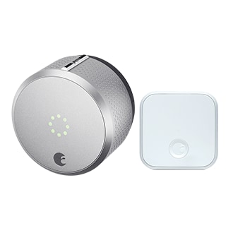 August Smart Lock Pro and Connect, 3rd Generation - Silver