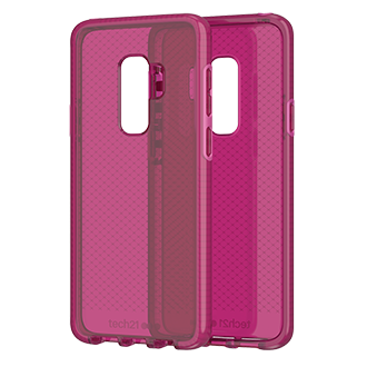 Tech21 Evo Check Case For Samsung Galaxy S9 Plus - Fuchsia Ultra-Thin, Super-Lightweight Protection For Your Phone. Flexshock Material Offers Superior Protection Against Impact And Helps Prevent Scratches. Corners Are Encased For A Secure Fit. Inside Check Pattern Adds A Touch Of Style.