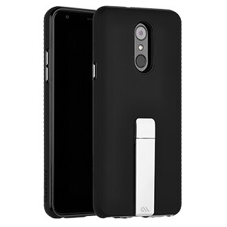 Case-Mate Tough Stand Case For Lg Stylo 4 - Black This Protective, Dual-Layered Case Offers A Smooth Soft Touch Finish And Ultra Slim Design. An Integrated Kickstand Provides The Perfect Media Viewing Experience With Both Portrait And Landscape Viewing Angles. Metallic Chrome Buttons Accent And Complete The Polished Look Of Your Device.