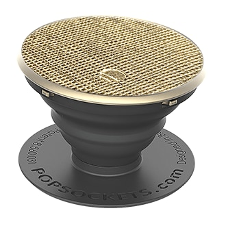 PopSockets Leather - Saffiano Gold