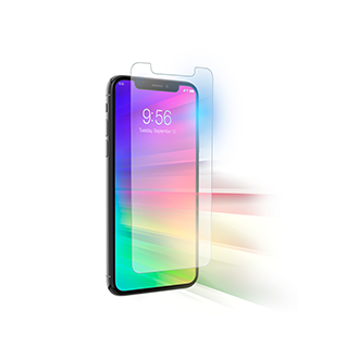 Zagg Invisible Shield Glass+ Visionguard For iPhone XS Max - Clear Advanced Protection For Healthy Eyes Glass+ Visionguard With Eyesafe Technology Not Only Protects Your Phone From Scratches And Impacts, But Also Filters Harmful Blue Light From Your Device Screen, Which Causes Digital Eye Strain.