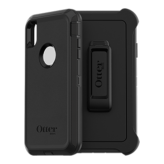 Otterbox Defender Series Case For iPhone XS Max - Black Rugged, Unbeatable Protection, Otterbox Defender Is Engineered To Provide Multi-Layered Defense. Each Layer Works Together To Provide The Ultimate Drop, Scratch And Dirt Protection. This Screenless Case Is Ready To Type, Tap And Swipe With Direct Access To Your Screen And Can Be Paired With Additional Screen Protection For Enhanced Protection. The Foam Buffer, Inner Shell And Outer Slipcover Help Absorb The Impact Of Drops, Bumps, And Other Shock. Port Plugs Allow For Easy Access While Keeping Out Dust And Debris. The Included Holster Works As A Belt Clip And A Hands-Free Kickstand.