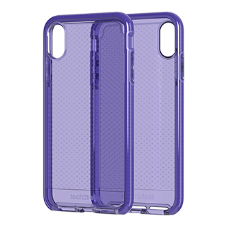 Tech21 Evo Check Case for iPhone XS Max - Ultra Violet