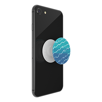 PopSockets PopTop - Blue Tidal Wave