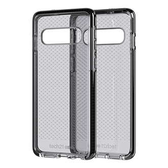 Tech21 Evo Check Case for Samsung Galaxy S10 - Smokey and Black