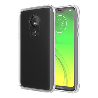 Case-Mate Tough Clear Case for moto g7 power - Clear