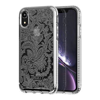 Tech21 Liberty London Grosvenor Case for Apple iPhone XR - Clear