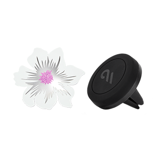 Case-Mate Car Charms - White Flower