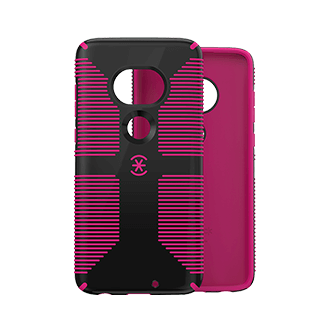 Speck CandyShell Grip Case for T-Mobile REVVLRY Plus - Black and Magenta