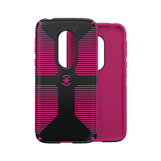 Speck Candyshell Grip Case for T-Mobile REVVLRY - Black and Magenta