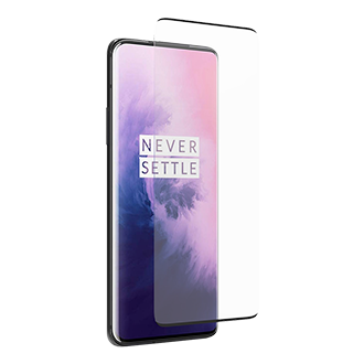 PureGear Curved Tempered Glass Screen Protector for OnePlus 7 Pro / 7T Pro 5G - Clear