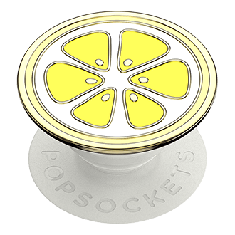 PopSockets PopGrip - Enamel Lemon Yellow